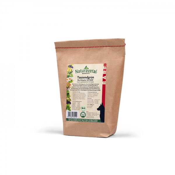 Naturavetal Canis Extra Tausendgrün Bio-Kräuter für BARF 250 g