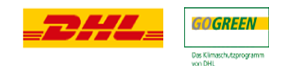 Logo Versand: Versand per DHL